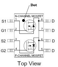 P channel mosfet switch